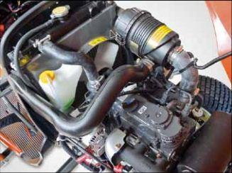 3 hengeres vízhűtéses dízelmotor, 21LE