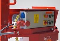 Vezérlő panel beépített időzítővel a keverési hossz beállításához, és a keverőfej automatikus kiemeléséhez.
