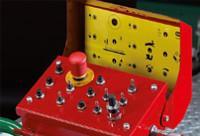 Mindkét oldalra felszerelt vezérlőpanel, minden vezérlő funkció integrálva, az ív vezérlés is