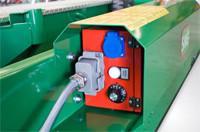 Simítólap Fűtése termosztáttal és 220V-os energia ellátással, HotTrovel