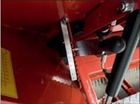 Az anyagkibocsátás precízen állítható a csúszókar segítségével.