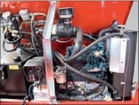 Vízhűtéses 3 hengeres Kubota dízel motor