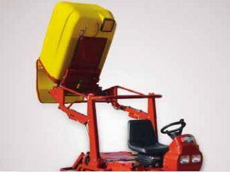 SportChamp SC2 4HL: Hidraulikus magas ürítés 2000 mm-ig