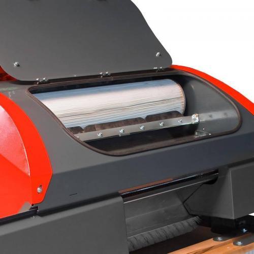 Szűrő, ami biztosítja a folyamatos pormentesítést az eszköznek